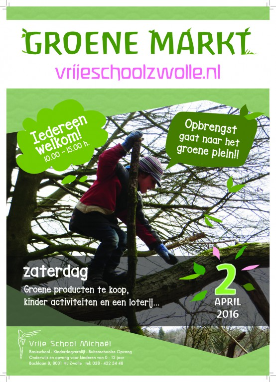 Poster Groene Markt
